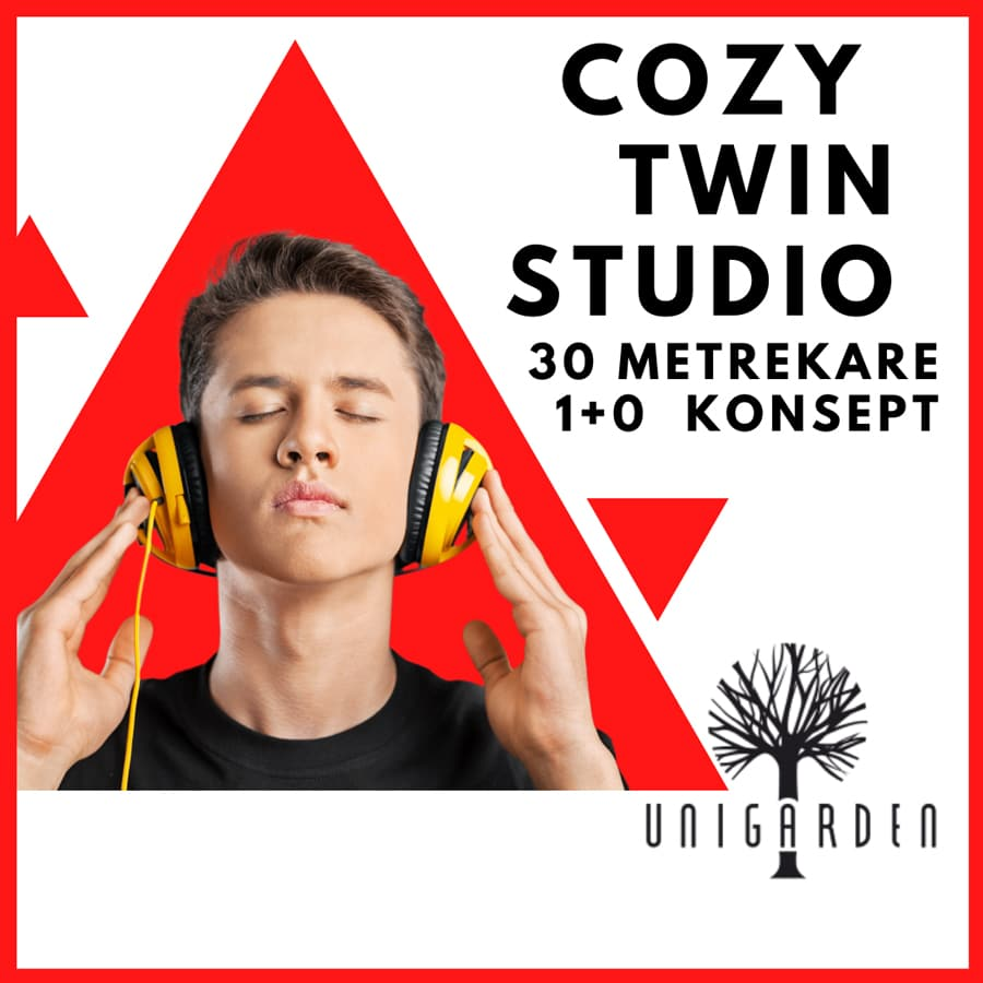 Cozy Twin Studio Erkek Yurt