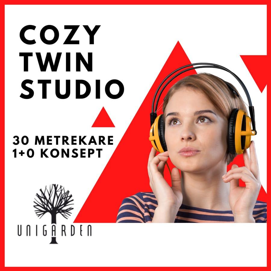 Cozy Twin Studio Kız Yurt