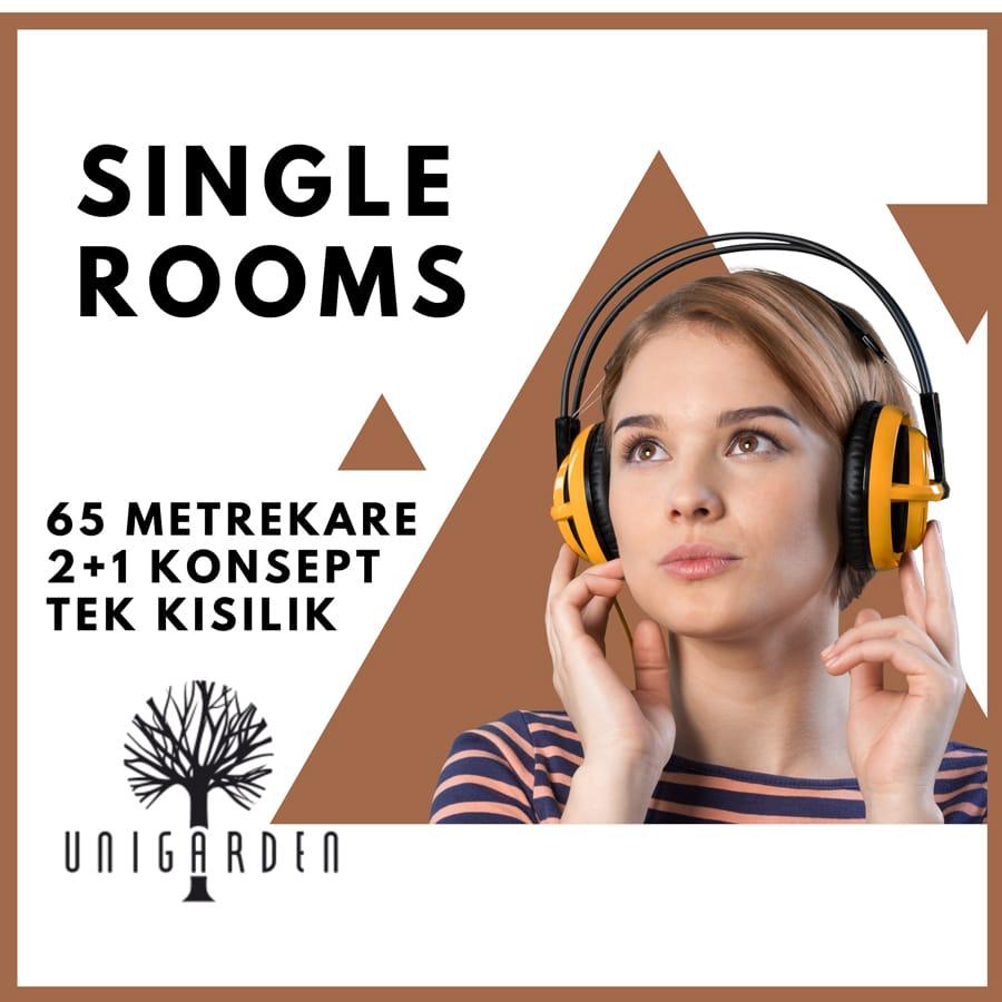 Single Rooms Kız Yurt
