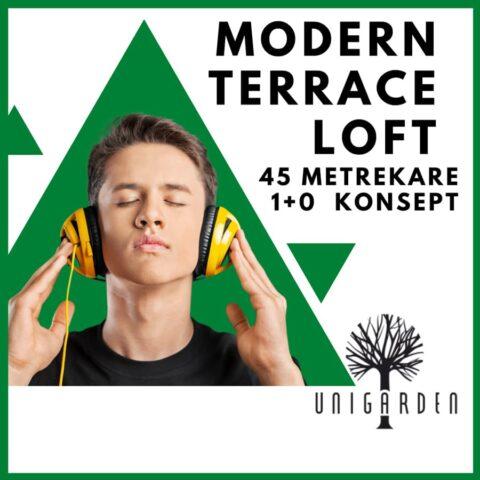 Modern Terrace Loft Erkek Yurt