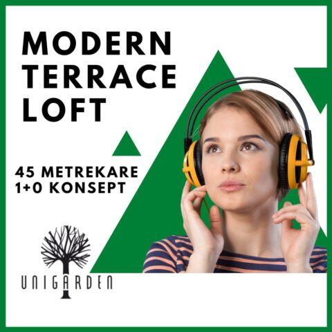 Modern Terrace Loft Kız Yurt